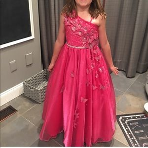 Other - Custom Butterfly full length gown size 6